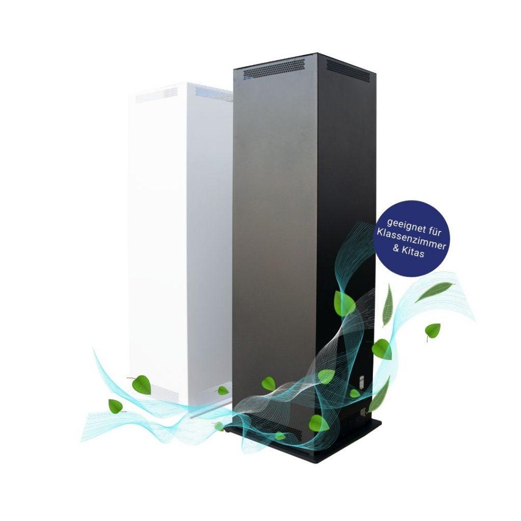 Luftreiniger, UVC Luftreiniger, Hepa Filter. Saubere Luft, Sichere Räume. Luftreiniger mit HEPA H13 H14 Filter.